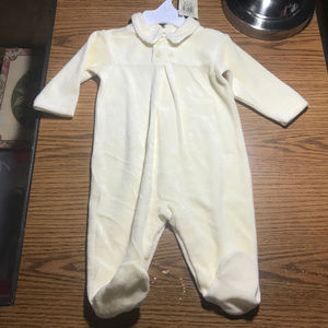 Ralph Lauren yellow footed sleeper 3-6 months NWT
